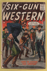 Six-Gun Western #4 July 1957, Marvel, 1957 Series FA/GD