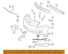 TOYOTA OEM 09-10 Corolla Front Bumper-Spoiler Rubber Seal Left 7687802070B2