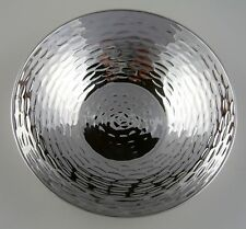 "Sterling Silver Hammered Bowl 4.75"""