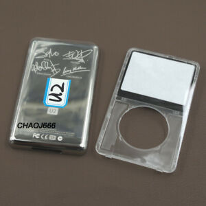 Transparent Faceplate Housing Case U2 Back Cover for iPod 5th Video 30/60/80GB