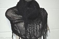 Sciarpa da donna tinta unita in misto lana