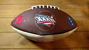 Super Bowl XXXVI Limited Edition Signed Football #91 & #64 Tom Brady 1st SB Win