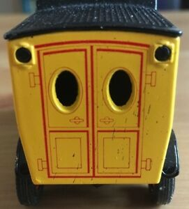 MATCHBOX YESTERYEAR Y12, FORD MODEL T, COLMAN'S MUSTARD - DOUBLE LINE BACK DOORS