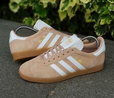 ❤ BNWB & Genuine Adidas Originals ® Gazelle Ash Pearl Suede Trainers UK Size 10