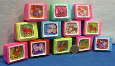 Flicker Picture ~ TV Set Pencil Sharpeners ~ 1 Dozen 1960's ~ Cartoon Animals