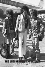 Jimi Hendrix Poster Experience London 1967 Mint Jimmy The