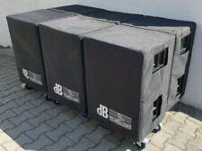 #4 dB Technologies DVA S09 Aktiv Subwoofer inkl. Bluewheel, Cover 134dB 1000Wrms