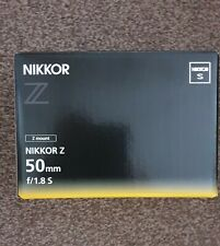 Nikon NIKKOR Z 50mm f/1.8 S Standard Lens