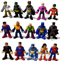 Fisher-Price Imaginext DC Super Friends Batman Super Man Wonder Woman Fgiures