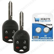 2 Replacement for Ford 2007-2015 Edge 2005-2012 Escape Remote Car Key Fob Cwtw