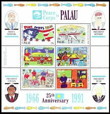 Palau 1991 ** bl.12 enfants dessins Children 's paintings [sp409]