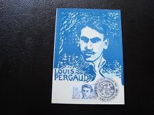 FRANCE - carte 23/1/1982 louis pergaud (B12) french