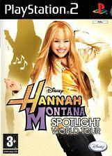 Hannah Montana: Spotlight World PS2 (Playstation 2) - Free Postage - UK Seller