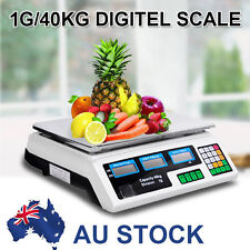 40KG Kitchen Scale Digital Commercial Electronic Weight Scales Food High Quality