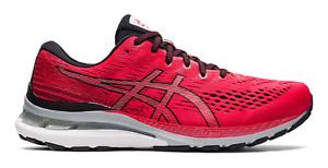 NEW Men's ASICS Gel-Kayano 28 Electric Red Black White Running Shoes Sizes 8-14