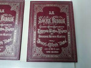 LA SACRA BIBBIA ANTONIO MARTINI DISEGNI GUSTAVO DORE' E FREGI ENRICO GIACOMELLI