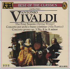 Antonio Vivaldi Best Of The Classics NEU