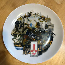 The Official 1980 Summer Olympic Games Plate (Vintage) LIMITED EDITION #: 2739B