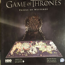 4D Cityscape HBO Game of Thrones Westeros Puzzle see description