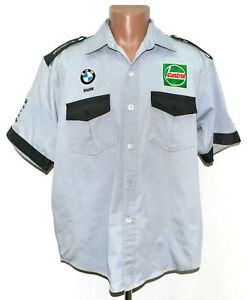 WILLIAMS BMW SCHUMACHER MONTOYA ERA 2001 FORMULA 1 F1 RACING SHIRT JERSEY XL