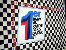 BMW Paris Dakar R80 GS Sticker 1981