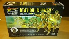 WARLORD GAMES BOLT ACTION BRITISH INFANTRY 28MM 1/56 SCALE MINIATURES