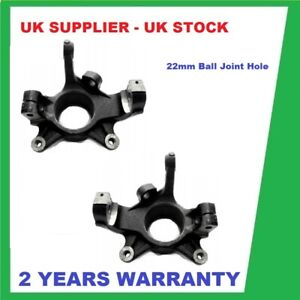2 x RENAULT MASTER VAUXHALL MOVANO INTERSTAR FRONT  SWIVEL KNUCKLE HUB CARRIER