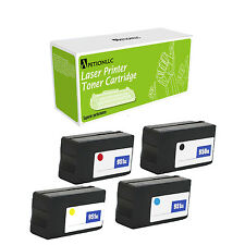 4Pk 950 XL BK +951XL CYM Ink Cartridges Set for HP OfficeJet Pro 8100 8600