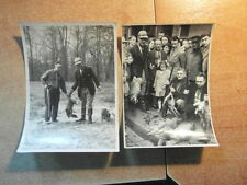 2 PHOTOS Vers 1948 CHASSEURS ET TROPHES DE CHASSE REGION EST / HUNTING