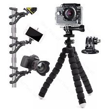 For GoPro HERO 7 Black Action Cam Camera Flexible Tripod Gorilla Mount Stand BLK