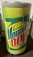 Mountain Dew Fridge Barrel Cooler Refrigerator