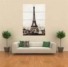 EIFFEL TOWER ANTIQUE PHOTO  NEW GIANT POSTER WALL ART PRINT PICTURE G1446