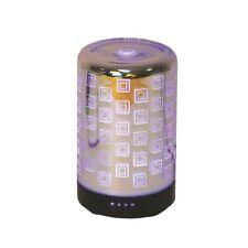 Electric 3D Ultrasonique DEL Diffuseur carrés huile essentielle Maison parfum brûleur