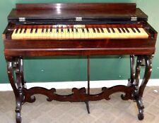 Carhart & Needham Melodeon Portable Rosewood Organ For Restoration Beautiful