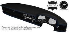 BLUE Stitch DASH Dashboard Leather COVER ADATTA PER ALFA ROMEO SPIDER DUETTO CLASSIC