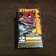 "Hot Rod VHS- ""Street Machine Pro Street"" -2 TAPE VHS - Main Event Entertainment"