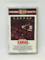 Two for the Show Kansas Cassette 1989 Kirshner Records USA ZGT 35660