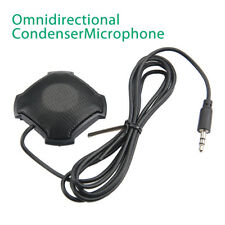 Omni-directional Stereo Conference Microphone 3.5mm for Computer PC Amplifier