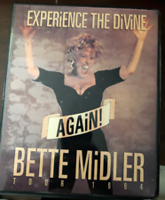 Bette Midler TOUR ITINERARY - 1994 XL (Rare)