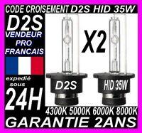2 AMPOULES LAMPE FEUX XENON HID D2S 35W 55W BMW X3 E83 4300K 5000K 6000K 8000K