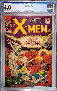X-Men #15 CGC 4.0 Freshly Graded