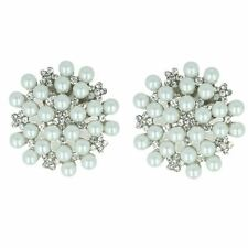 Ladies Van Dal Stylish Changeable Shoe Clips Pearl