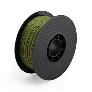 Army Green TPU 3D Printing Filament 1kg/2.2lb 1.75mm Similar to NinjaFlex