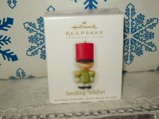 Hallmark Smiling Soldier 2010 Miniature Christmas Club Keepsake Ornaments