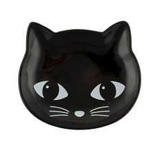 Cat Trinket Coin Jewellery Ring Earrings Dish Ceramic Storage Sewing Pin Tray