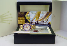 ROLEX - Mens 44mm 18kt Gold YachtMaster II White Index - 116688 SANT BLANC