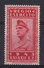 REGNO ITALIA FRANCOBOLLO FRANCHIGIA MILITARE 1943 MARCA OTTIMA GOMMA CENTRATO