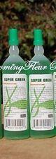 2 bottles SUPER Green All Purpose PLANT FOOD Lucky Bamboo (36 ml bottles) NEW