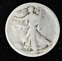 1920 P - LIBERTY WALKING HALF DOLLAR - SILVER - GOOD CONDITION