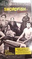 Swordfish VHS Movie John Travolta Hugh Jackman Halle Barry Don Cheadle Sealed